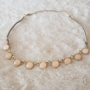 light pink OLD NAVY necklace